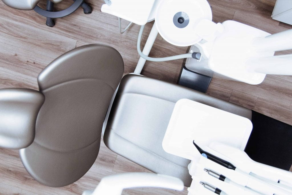 image a dental chair for how to choose a dentist blog post